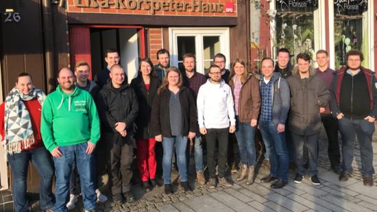Gruppenfoto der Jusos Celle