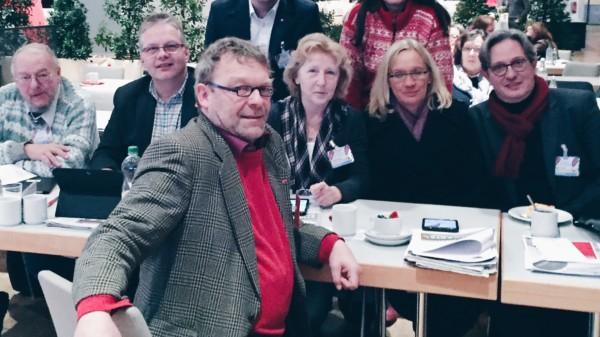 Die Celler Delegation auf dem SPD-Bezirksparteitag