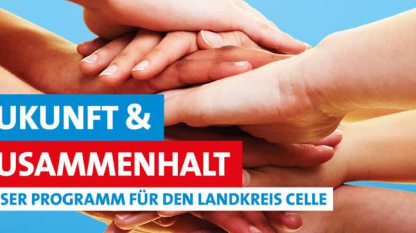Zukunft & Zusammenhalt: Unser Programm für den Landkreis Celle