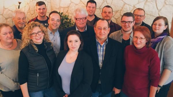 Kandidatinnen und Kandidaten der SPD Bergen zur Kommunalwahl