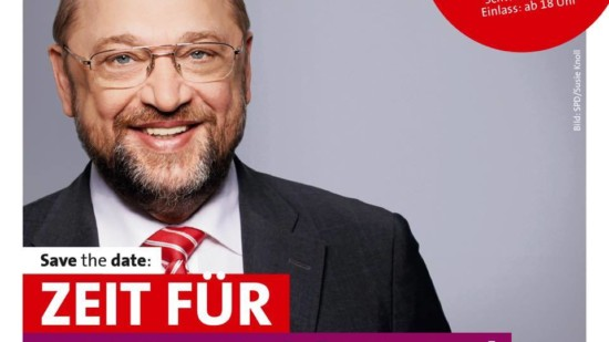 Martin Schulz live in Hannover