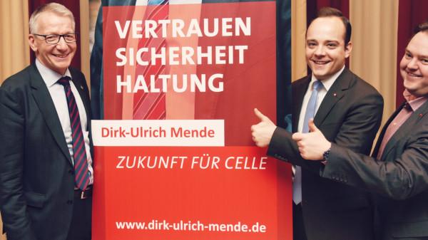 Dirk-Ulrich Mende, Maximilian Schmidt MdL und Christoph Engelen