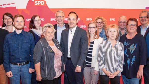 Der Vorstand der SPD im Landkreis Celle