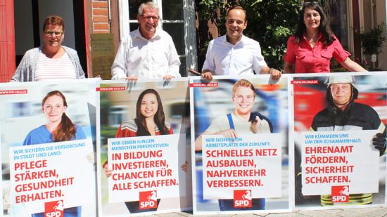 Vorstellung der Kampagne zur Kommunalwahl 2016