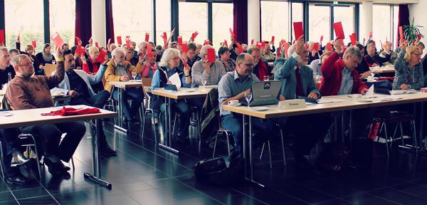 Foto vom SPD-Unterbezirksparteitag