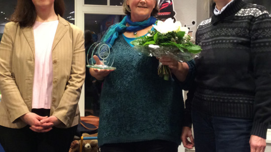 Verleihung des AsF-Ehrenamtspreises an Johanna Ottermann