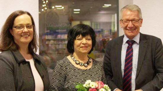 Verleihung des Ehrenamtspreises 2016 an Elke Schaefer
