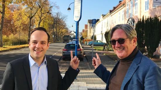 Maixmilian Schmidt und Mathias Pauls