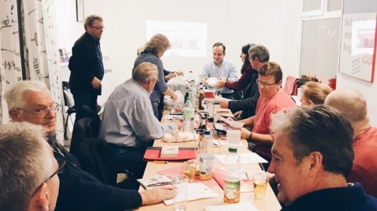 """Zu Besuch in der """"AnsprechBar"""" der SPD Südheide"""