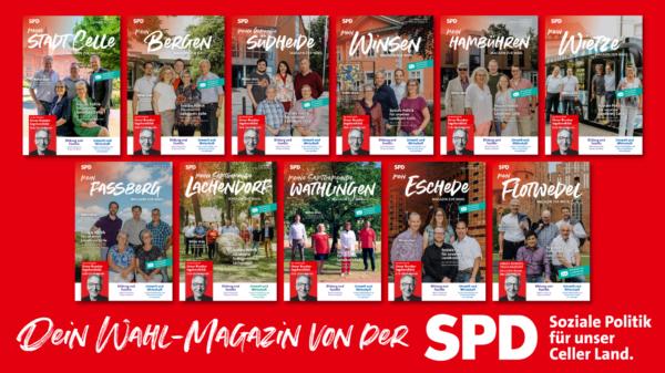 Übersicht über die Wahl-Magazine